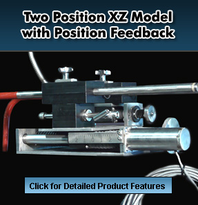 Two Position XZ Model with Position Feedback